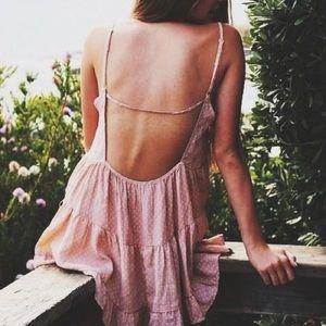 Brandy Melville Jada dress mauve pink